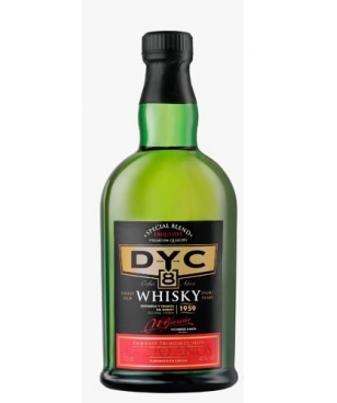 WHISKY DYC 8 AÑOS 70 CL