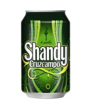 SHANDY CRUZCAMPO 33 CL (1/3) LATA