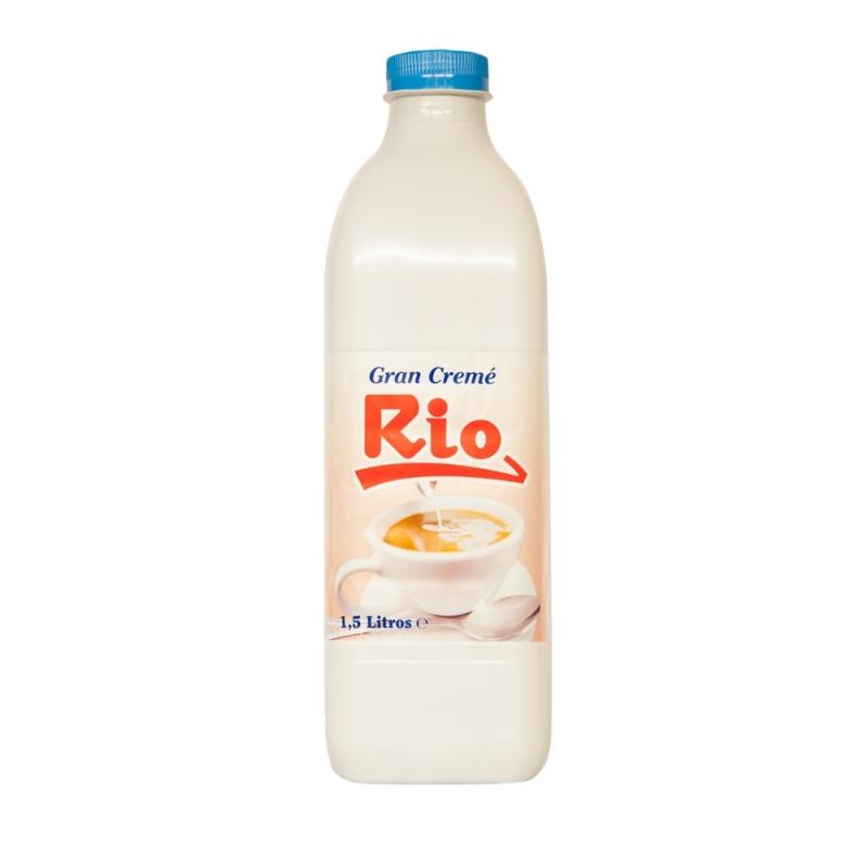 LECHE RIO GRAND CREME 1,5 L (CAJA DE 6 BOTELLAS)