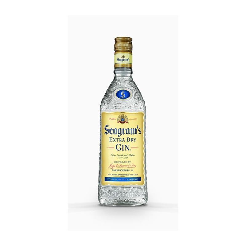 GINEBRA SEAGRAM`S GIN 70 CL