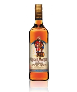 RON CAPITÁN MORGAN SPICED GOLD
