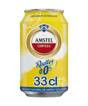 Amstel Radler 33 cl lata 0% (CJ 24 LATAS)
