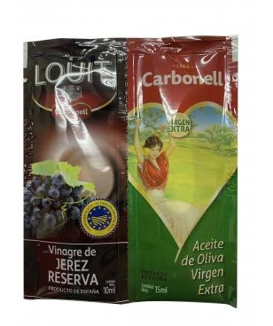 Aceite15ml + Vinagre 10ml cj 150 Unidades