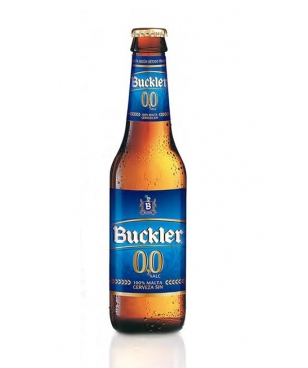 BUCKLER 0% 25 CL (1/4) NO RETORNABLE (CAJA DE 24 BOTELLAS)