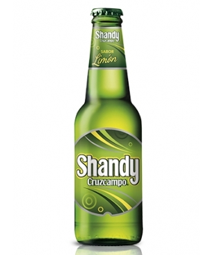 SHANDY CRUZCAMPO 25 CL (1/4) NO RETORNABLE
