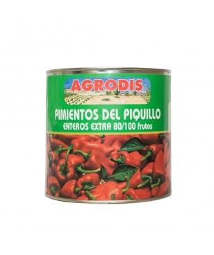 PIMIENTO PIQUILLO EXTRA AGRODIS 3 KG (PACK DE 6)